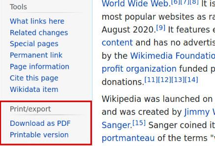 Charles Richard Weblog Wikipedia Sidebar